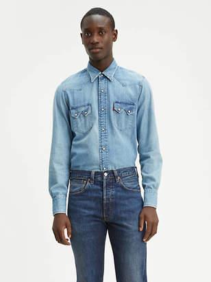 Levi's 1955 Sawtooth Western Shirt Chambray