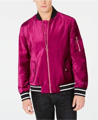 INC International Concepts I.n.c. Men's Velvet Bomber Jacket