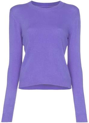 The Elder Statesman billy cropped cashmere jumper