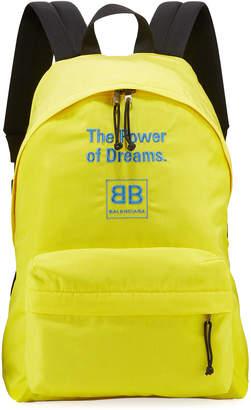 Balenciaga The Power Of Dreams Nylon Backpack