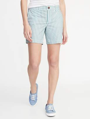 Old Navy Mid-Rise Twill Everyday Shorts for Women - 7-inch inseam