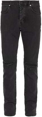 Neuw Iggy ripped-knee slim-leg jeans