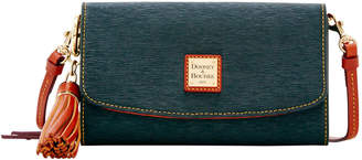 Dooney & Bourke Cork Clutch Wallet Sammi Tassel