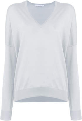 Jean Paul Gaultier Knott v-neck jumper