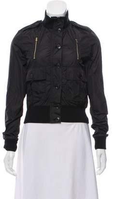 Gucci Lightweight Mock Neck Jacket