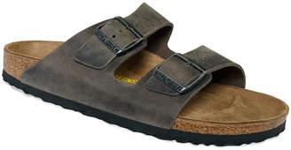 Birkenstock Men's Arizona Two Band Oiled Leather Sandals