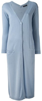 Twin-Set classic long cardigan $276.40 thestylecure.com