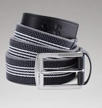 Under Armour UA Mens Striped Performance Stretch Belt