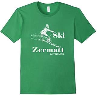 Zermatt Ski T-Shirt Switzerland Skiing Tee