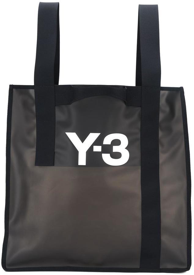 Y-3Y-3 logo beach bag