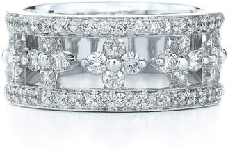 Kwiat 'Jasmine' Floral White Gold & Diamond Ring
