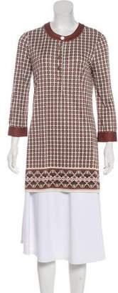 Tory Burch Silk Printed Dress