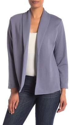 220e14ba9d0 Women s Grey Knit Open Blazer - ShopStyle