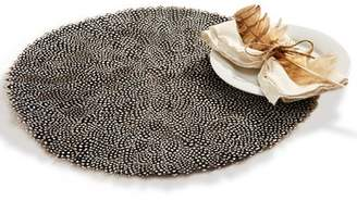 Loon Peak Millstone Guinea Fowl Feather Placemat