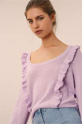 The Fifth EPIPHANY KNIT lilac