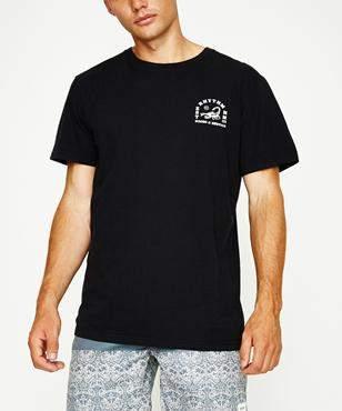 rhythm Central Short Sleeve T-shirt Black