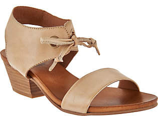 Miz Mooz Leather Sandals with Tie Detail - Vanessa $109.95 thestylecure.com