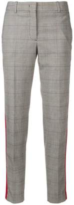 Paul Smith checked cropped trousers