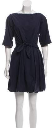 Burberry Bateau Mini Dress