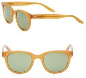 Barton Perreira Thurston 49MM Matte Wayfarer Sunglasses