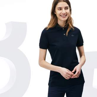 Lacoste Women's Limited Edition 85th Anniversary Classic Fit Wool Pique Polo