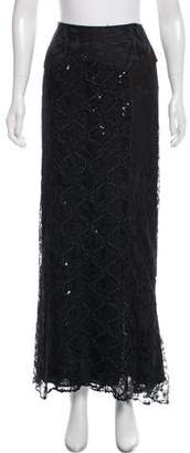 Christian Lacroix Embellished Lace Skirt