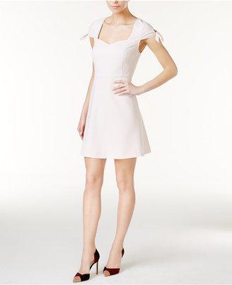 kensie Tie-Sleeve Fit & Flare Dress $79 thestylecure.com