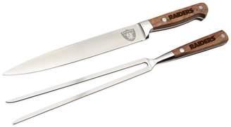 Oakland Raiders Carving Knife Set