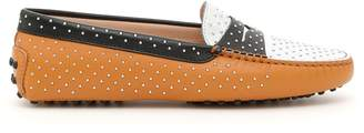 Tod's Tods Gommino Loafers With Micro Studs