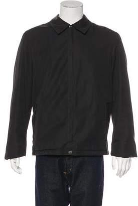 Versace V2 Sherpa-Lined Jacket