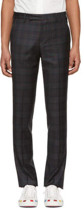 Paul Smith SSENSE Exclusive Green Wool Slim Trousers