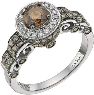 Le Vian 14ct White Gold 1ct Chocolate Diamond Ring