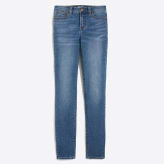 "J.Crew Factory 8"" Mid-rise skinny jean in venice wash"