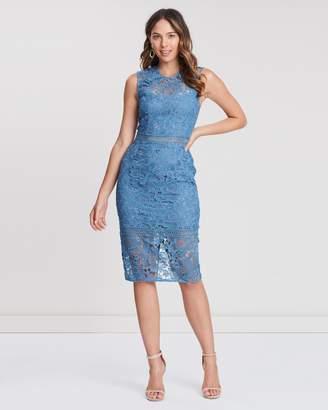 Cooper St Hinterland High Neck Lace Dress
