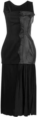 Yohji Yamamoto panelled bodice dress