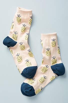 Hansel from Basel Pineapple Crew Socks