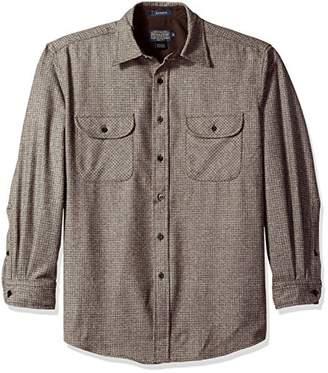 Pendleton Men's Long Sleeve Button Front Classic-fit Maverick Merino Shirt