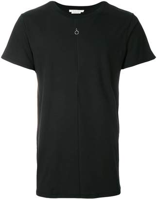 Alyx crew neck T-shirt with zipper detail