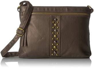 Bueno of California Bueno Faux Antique Leather Washed Crossbody 2