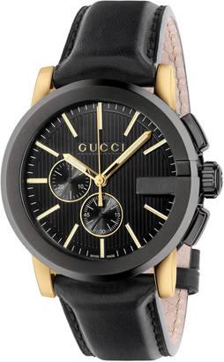 G-Chrono, quartz chronograph, 44mm $1,820 thestylecure.com
