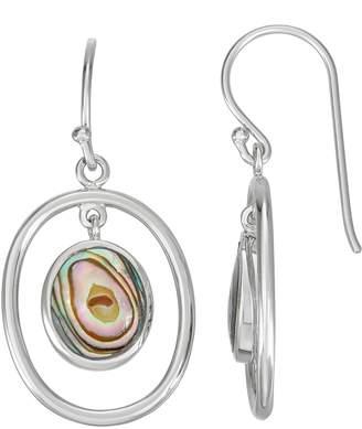 c639b058123f6 Oval Stone Drop Earrings - ShopStyle