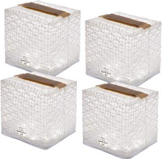 Solight Design Camper's Special Bright White SolarPuffs (Set of 4)