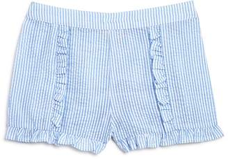 Design History Girls' Ruffled Seersucker Shorts - Little Kid