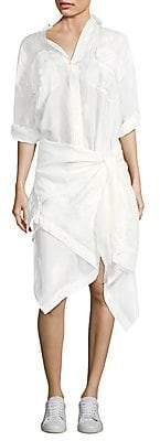 Faith Connexion Women's Silk Shirt Dress