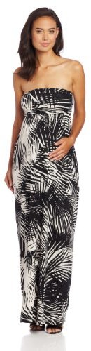 NOM Women's Maternity Zora Maxi Dress