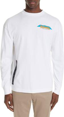 e6ebc8825d9 Palm Angels Hiking Graphic Long Sleeve T-Shirt