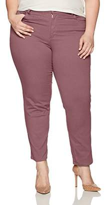 Gloria Vanderbilt Women's Plus-Size Plus Amanda Classic Tapered Jean Pants