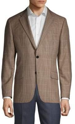 Hickey Freeman Milburn II Regular-Fit Wool & Silk Sportcoat