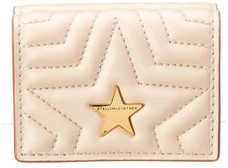 Stella McCartney Stella Star Mini Flap Wallet
