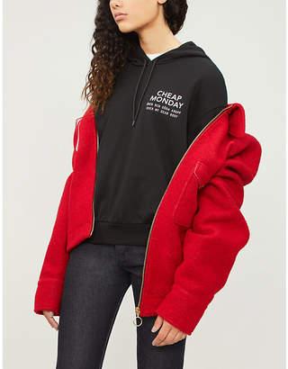 Cheap Monday Sender cotton-blend hoody